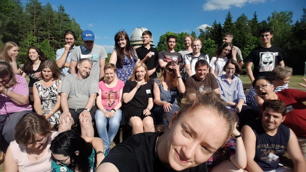 Europlanet Summer School 2019. Credit: Reka Denes