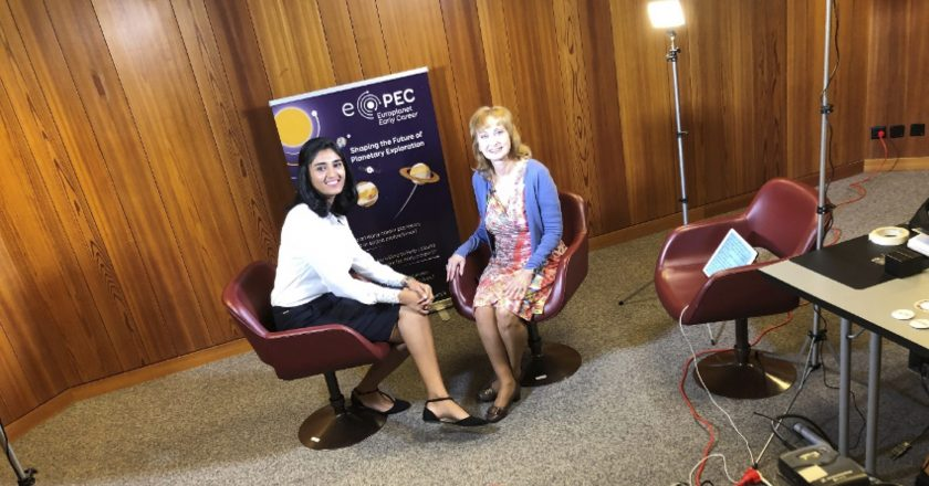 Filming EPEC's Motivational Journeys series