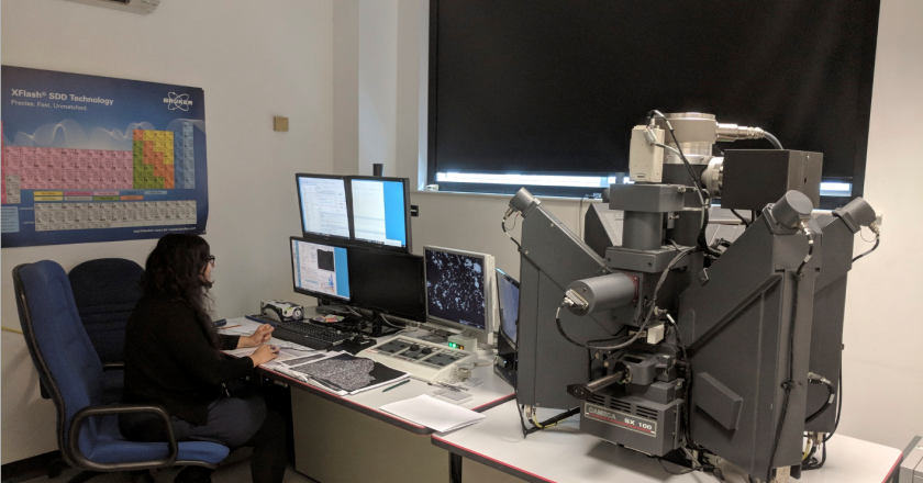 TA 2.3: Cameca SX100 Electron Microprobe at Natural History Museum PMCF.