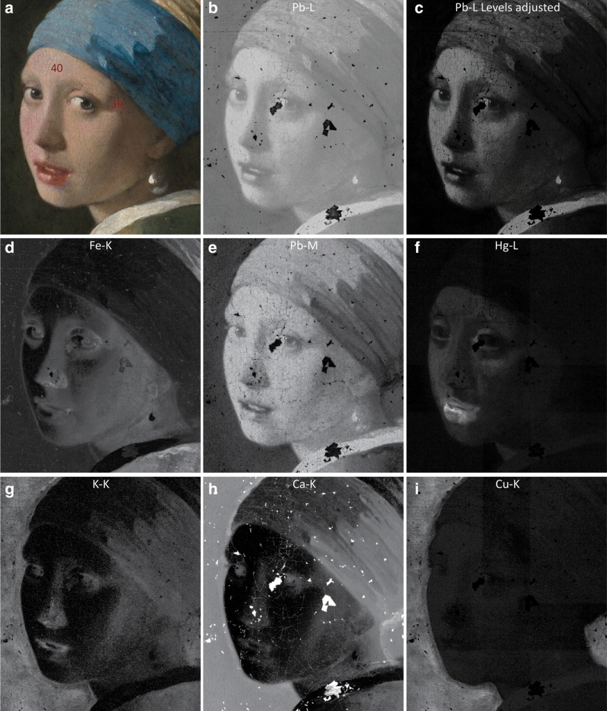 Girl with a Pearl Earring. Credit: René Gerritsen Art & Research Photography/ van Loon et al