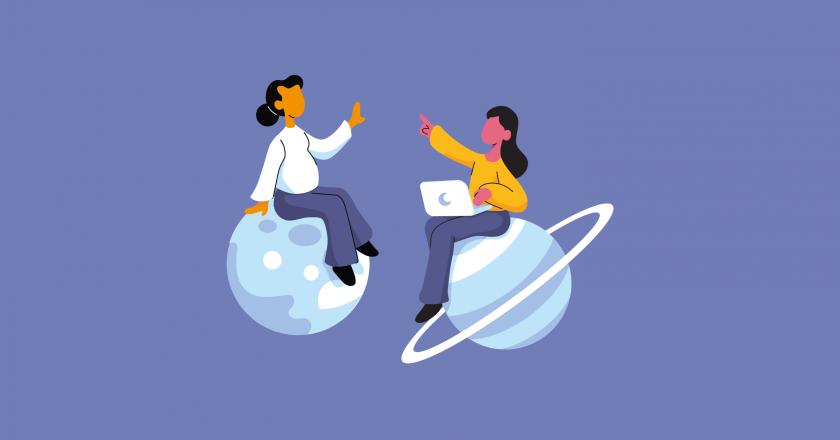 Mentoring illustration