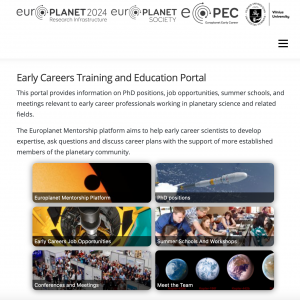 Early Career Training and Education Portal