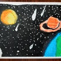 Comet Rain by Kajus Peceliunas