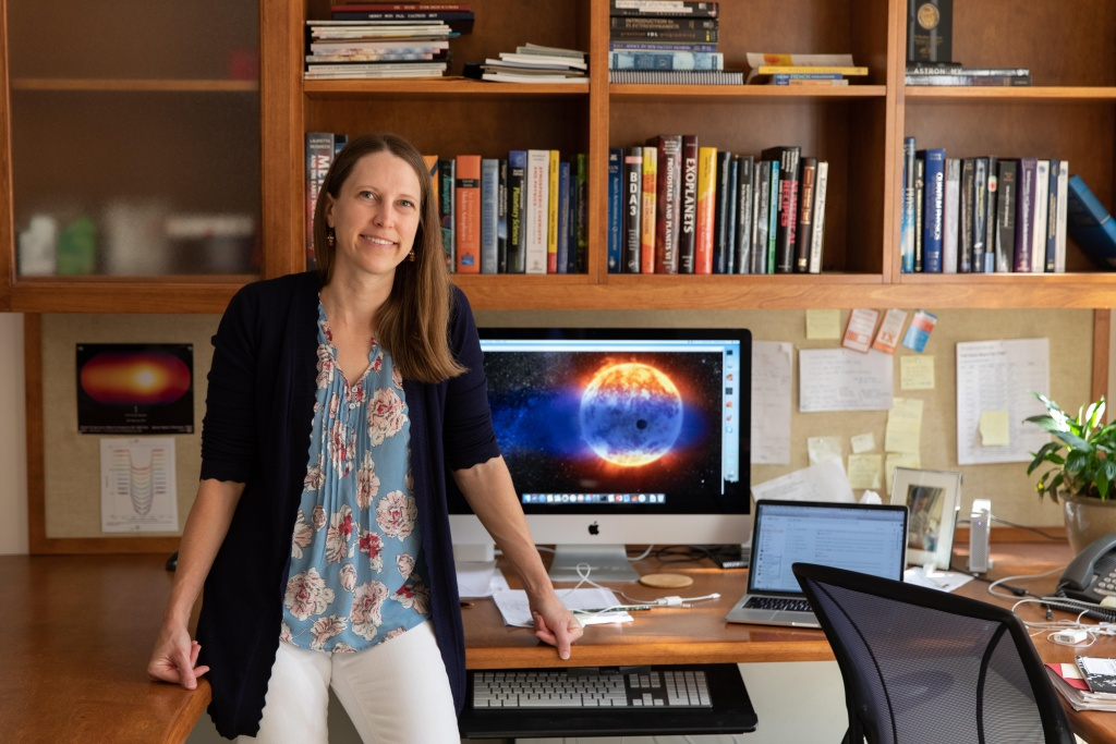 Farinella Prize Winner 2020: Heather Knutson. Credit: H Knutson