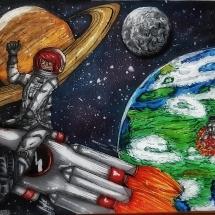 Space Race - Amela Arnautović