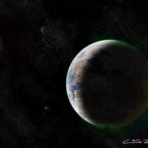 """The cold deserts of Kepler-186 f"" - Caetano Julio Neto"