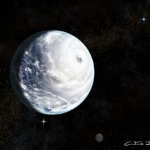 """""""Colossal storm sweeps across ocean world Kepler-62 e""""- CaetanoJulio Neto"""