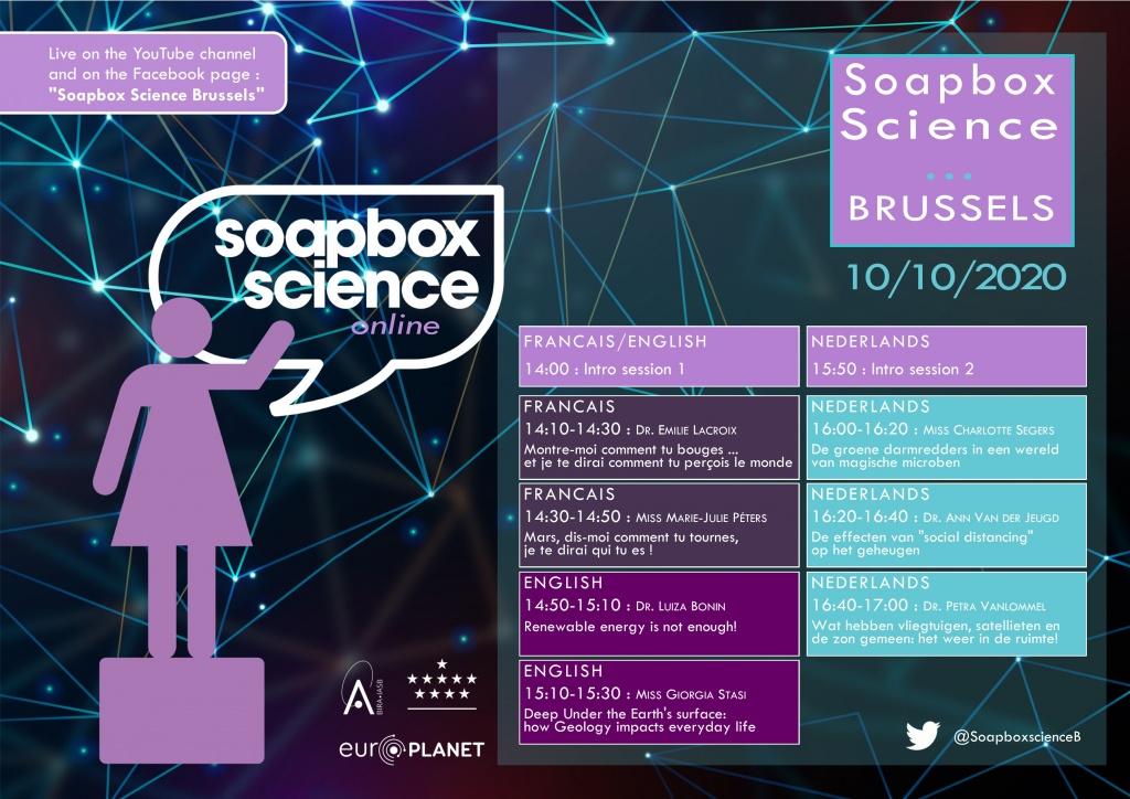 Soapbox Science flyer