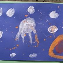 Meteorites falling - Panagiotis Bakirtzidids