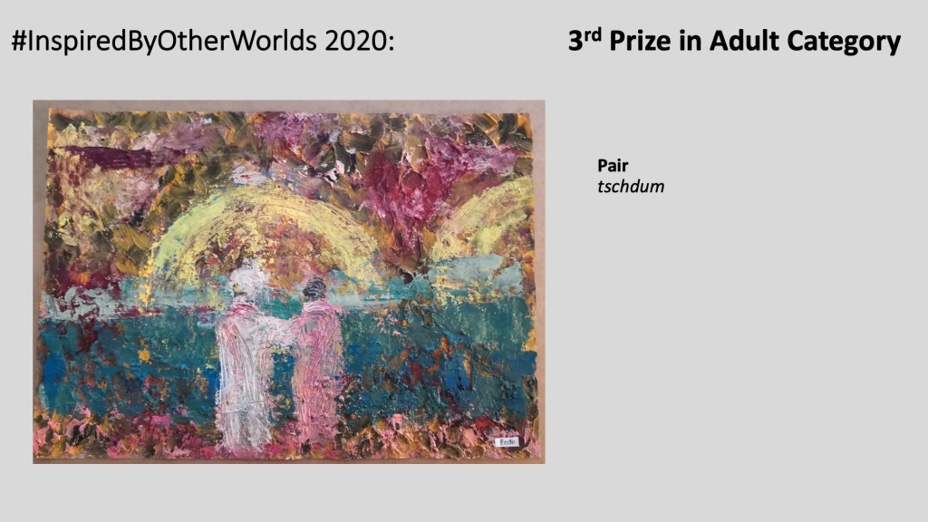 3rd Prize in #InspiredByOtherWorlds Arts Contest (Judges Choice, Adult Category): Pair by tschidom