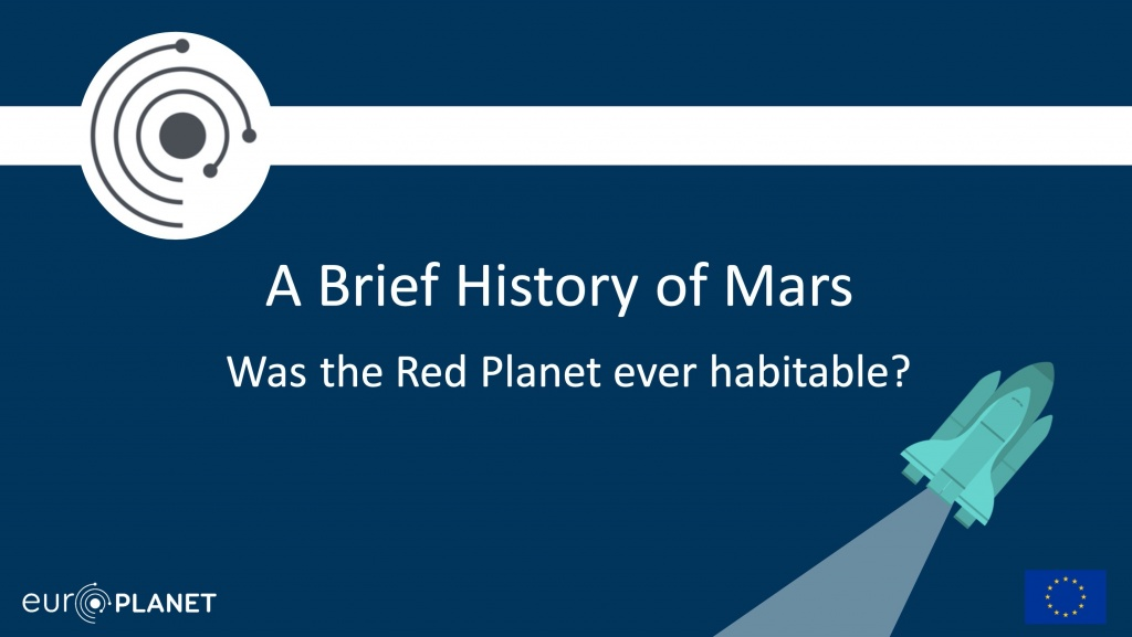 Mars Educational Resources - Brief History of Mars