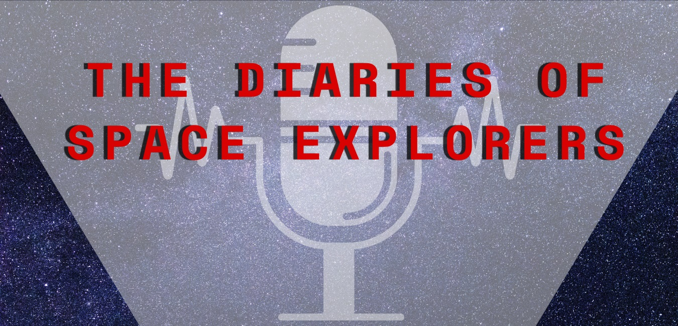 Diaries of Space Explorers Podcast logo