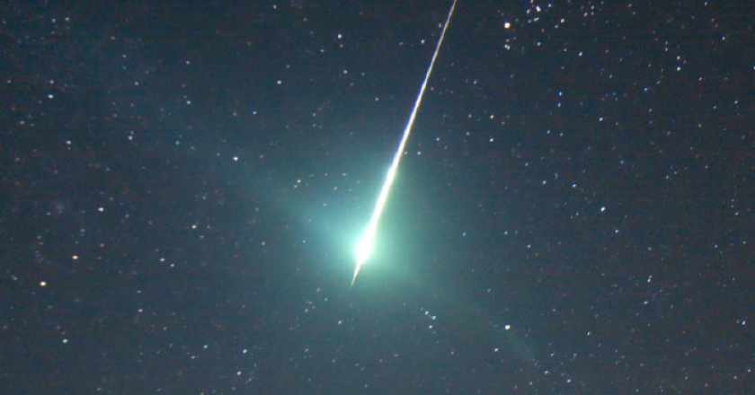 Fireball. Credit: H. Edin