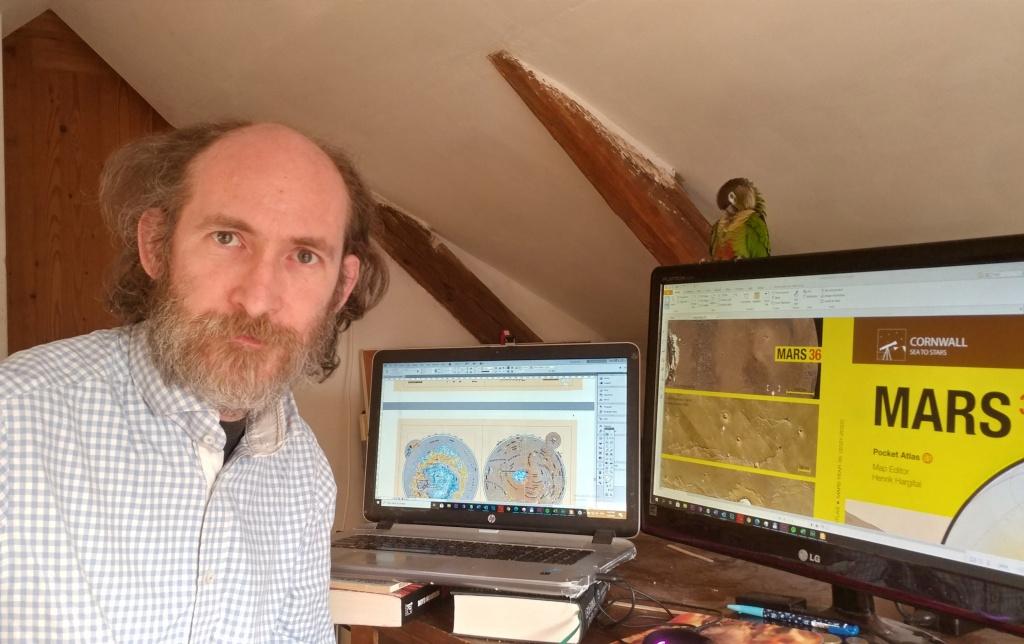Henrik Hargitai, Editor of the Pocket Atlas of Mars 36